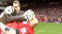 EPIC!! Steven Gerrard Crying - Liverpool vs Manchester City 3-2 (13/04/2014)