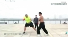 Chinese man makes living as human PUNCHBAG letting people hit him as hard as they can for money