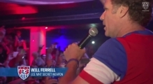 Will Ferrell Crashes #FanHQ in Recife