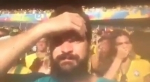 [FULL] Brazilian Man Farts Near Neymar's Girlfriend Bruna Marquezine During Brazil v Chile (Video)