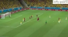 David Luiz AMAZING Free Kick Goal vs Colombia ~ Brazil vs Colombia 2 0 04 07 2014 HD