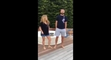 Shakira and Pique ALS Ice Bucket Challenge