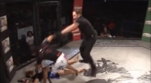 Vicious Female MMA Knockout Alida Gray Delivers Brutal KO Punch to Soannia Tiem