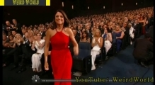 Julia Louis Dreyfus and Bryan Cranston: Emmy Awards 2014 Bryan Cranston Kisses Julia Louis Dreyfus