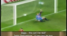 Man UTD - Bayern Munich 1999:  Final Last 3 Minutes