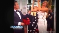 Sofia Vergara's 'Ice Bucket Challenge' on Emmys red carpet