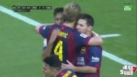 Neymar Second Goal - Barcelona vs Granada 6-0 ( La Liga 2014) 27/09/2014 HD