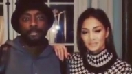 Will.I.Am and Nicole are saying Hi to Baku