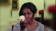 'Turnip For What!?': Michelle Obama Jigs In Healthy Eating Skit