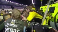 Post-race brawl between Gordon and Keselowski