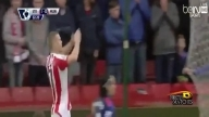 Stoke city vs Manchester united 1-1 2015/2016 All Goals And Highlights مانشستر يونايتد 1-1 ستوك سيتي