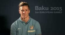 Atletico Madrid players get behind | Baku 2015