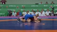 Glory for Dorogan in the 53kg Freestyle category | Wrestling | Baku 2015 European Games