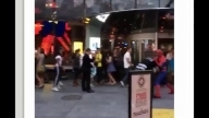 Spider Man Brawls Real Life Villain In Times Square