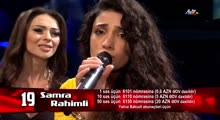 Samra Ragimli & Manana - Sarı Gəlin | 1/2 final | The Voice of Azerbaijan 2015