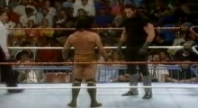 Wrestlemania VII - Undertaker vs Jimmy 'Superfly' Snuka 1991.03.24