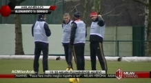 MILANELLO | training 16/1/2014 | part 1 | Seedorf's first day