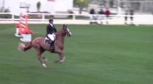Jamal Rahimov & Warrior Oliva Nova MET 1.50 GP 2nd Place Jump-Off