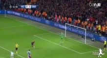 Manchester City 0-2 Barcelona / Champions League (18-02-2014)