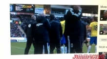 [FULL FOOTAGE] NewCastle Vs Hull City - Alan Pardew - Headbutt against Hull city's David Meyler