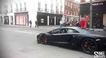 Aventador Crash - Moment of Impact